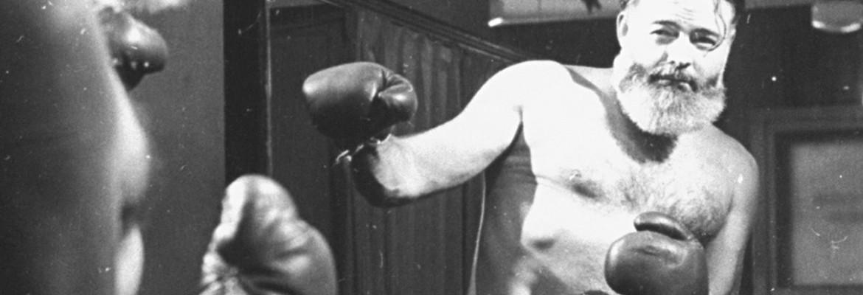 Эрнест Хемингуэй: «Бокс научил меня никогда не оставаться лежать ...
