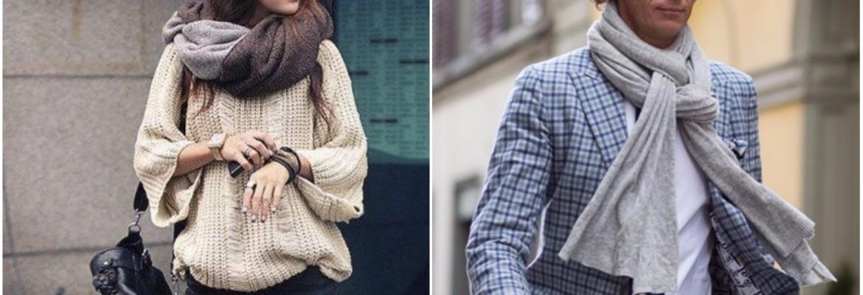 как повязать шарф