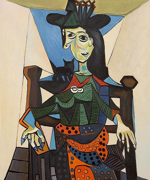 Портрет Доры Маар Пабло Пикассо