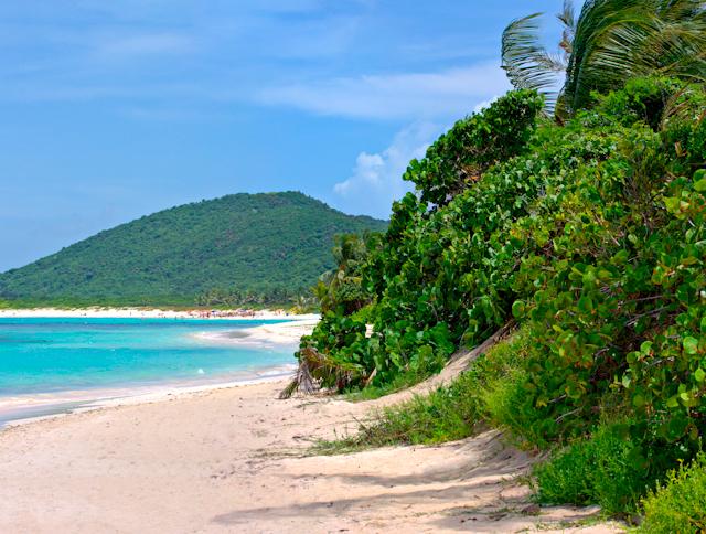 Пляж Фламенко Пуэрто Рико
