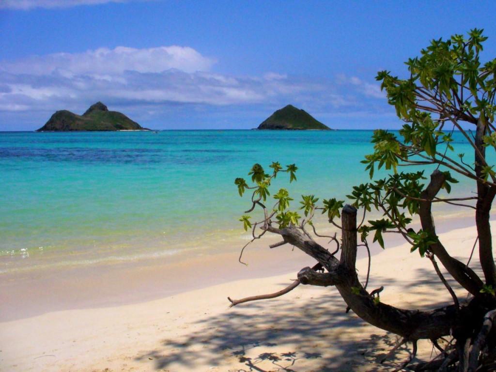Пляж Ланикай Гавайи