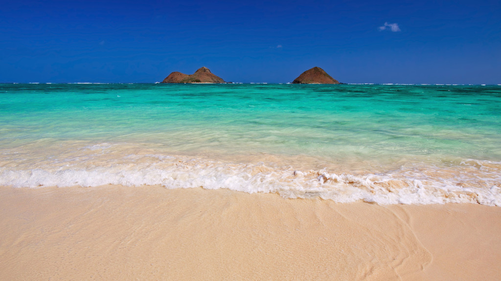 Гавайи пляж