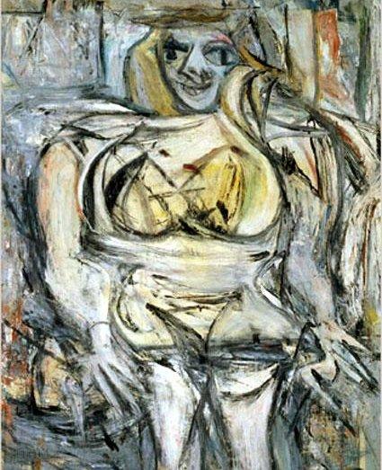 Виллем де Кунинг — «Женщина III»