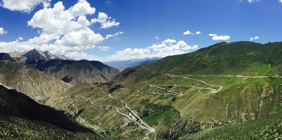 шоссе в Тибете