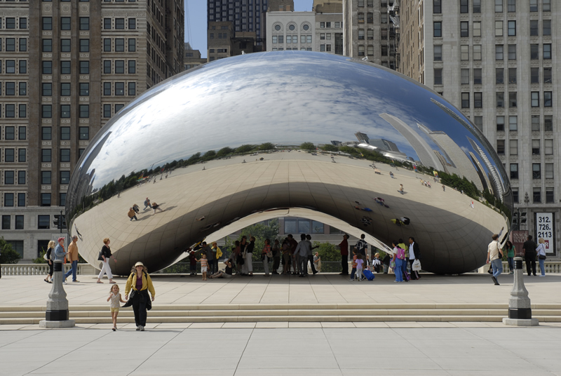 Облачные ворота, Чикаго, США