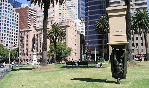 Статуя Чарльза Ла Тробе, Мельбурн, Австралия