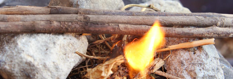 добыча огня