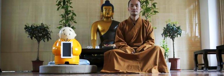 робот-буддийский-монах