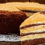 Очень вкусный сметанный торт