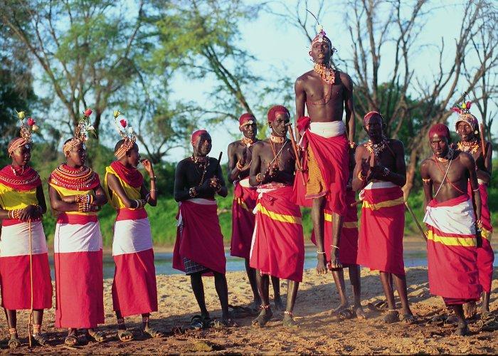 Кения. Племя Масаи
