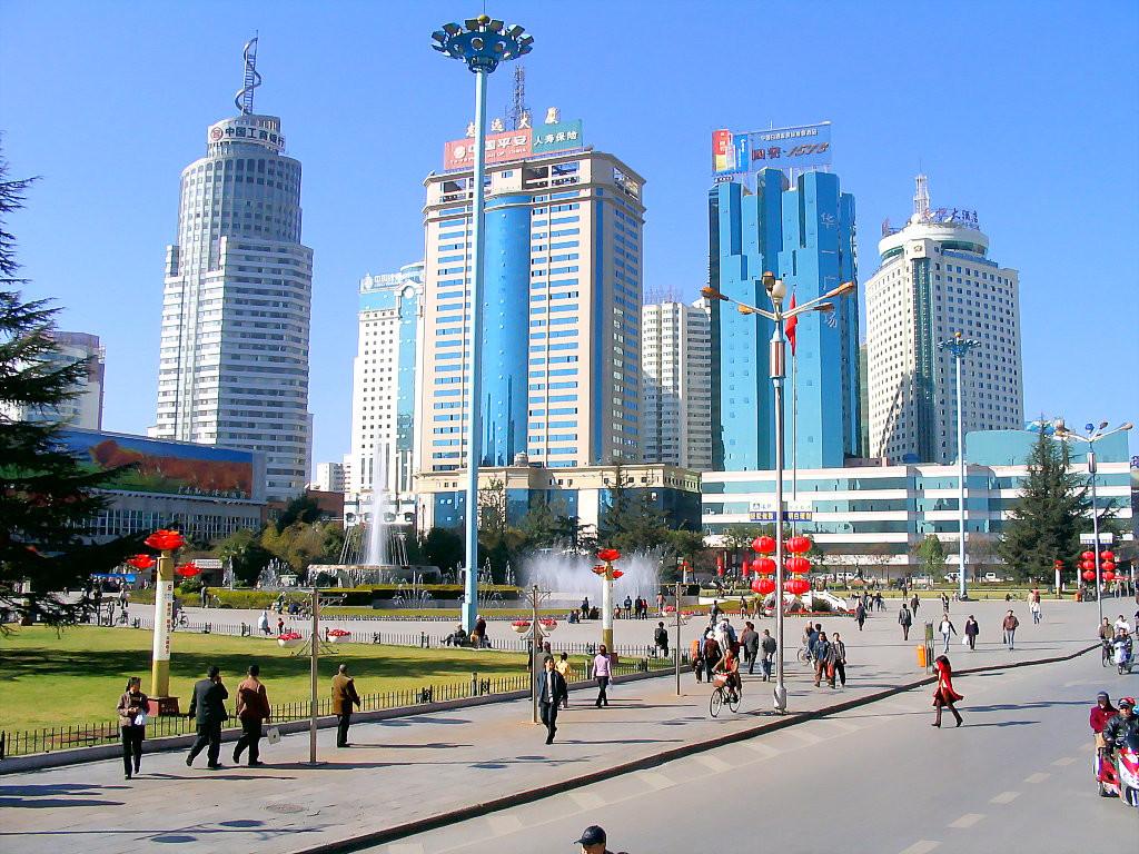 Китай Куньмин