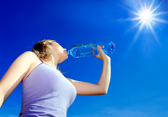 питьевой режим в жару