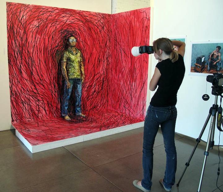 Как сделать объемную картину по фотографии