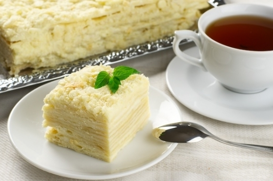 как приготовить торт наполеон
