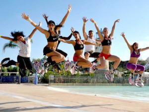 тренировка с прыжками