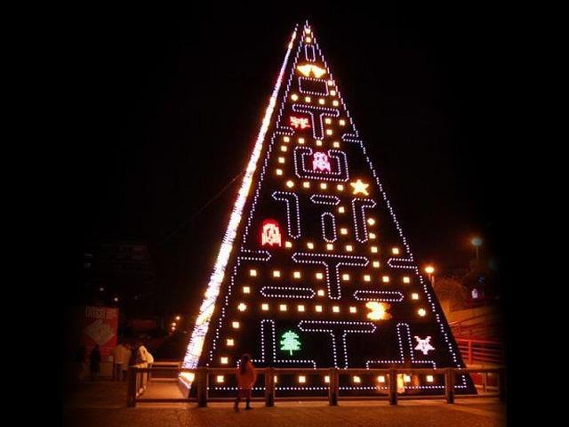 новогодняя елка в Испании