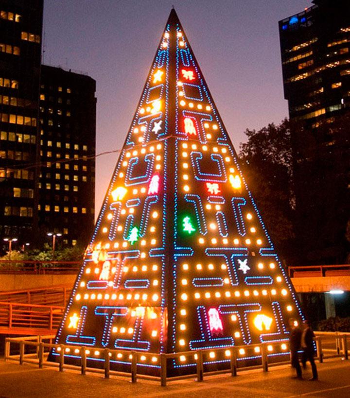 Рождественская елка в Мадриде