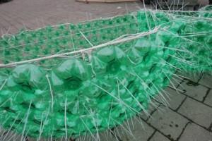 елка из пластиковых бутылок в Литве