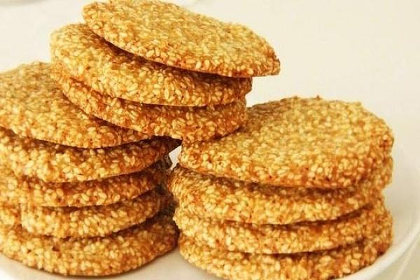 печенье из кунжута