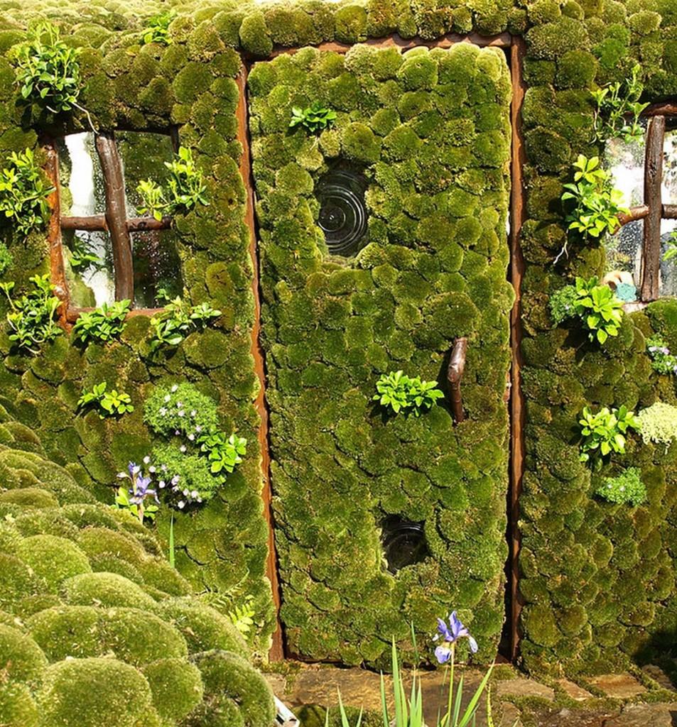 необычная дверь в Японии
