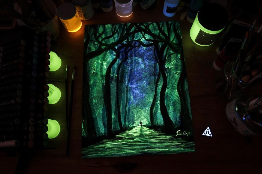 Картины светящиеся