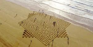 искусство на песке