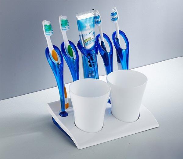 Стакан для зубных щеток своими руками