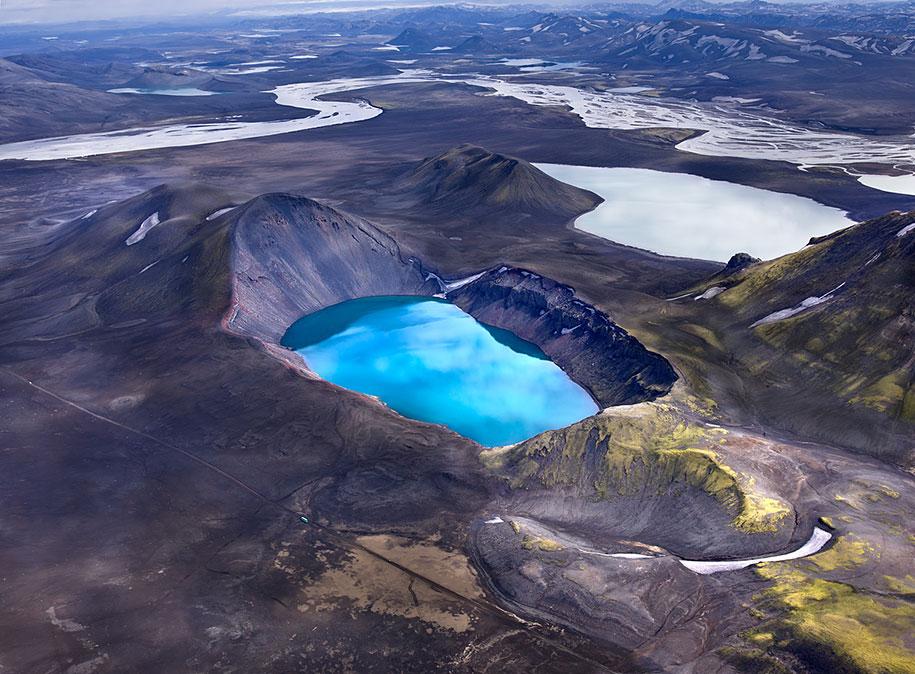 Исландия озеро