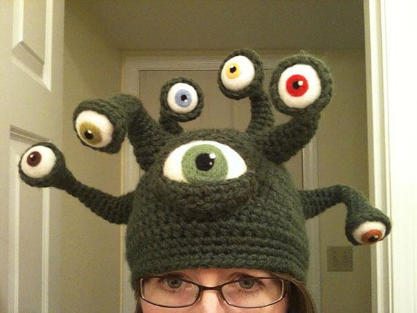 Необычные шапки