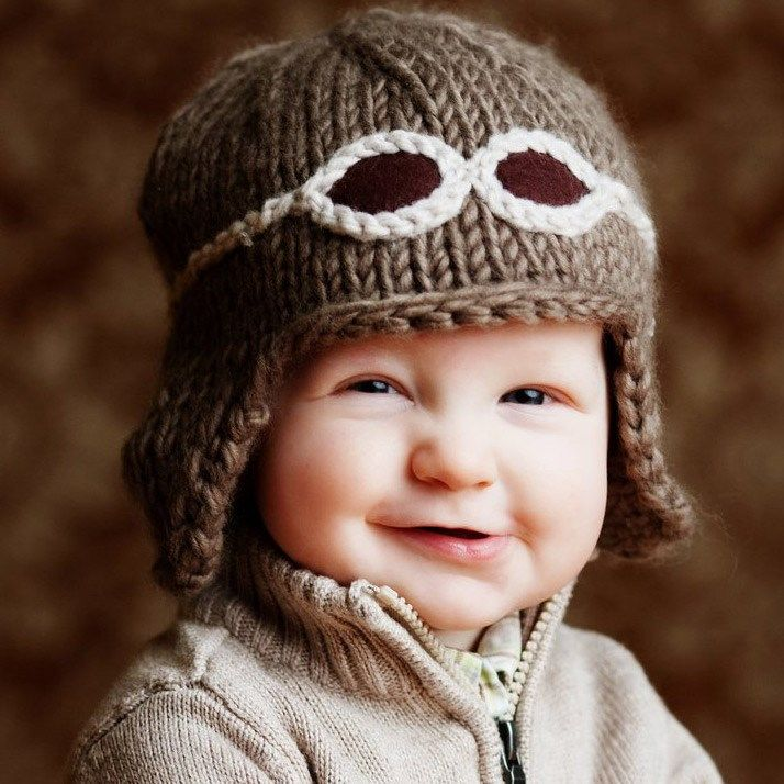 Вязание шапок для детей от 1 до 3 лет 163