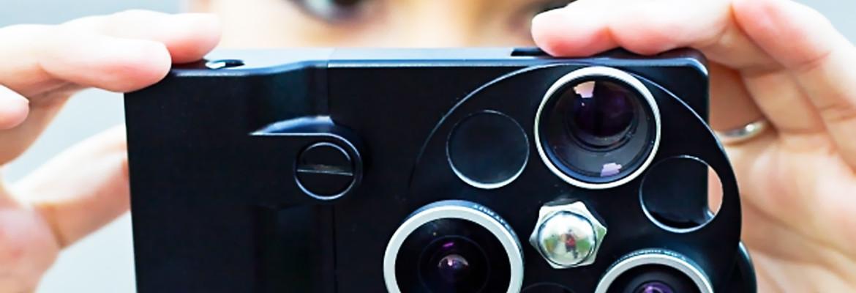объектив на смартфон