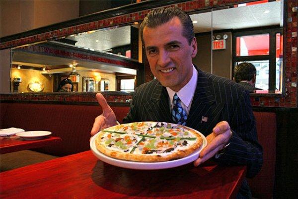 самая дорогая пицца