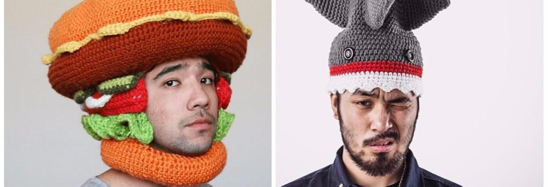 забавные головные уборы