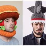 Прикольные вязаные шапки. И согреют, и настроение поднимут