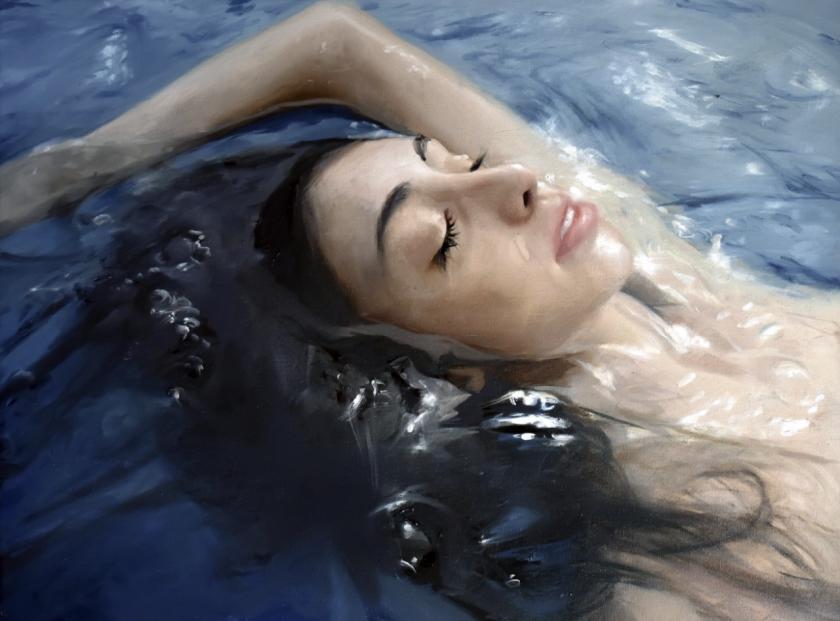гиперреализм воды