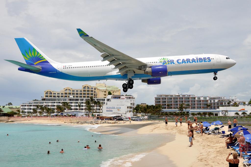 аэропорт на Карибском острове