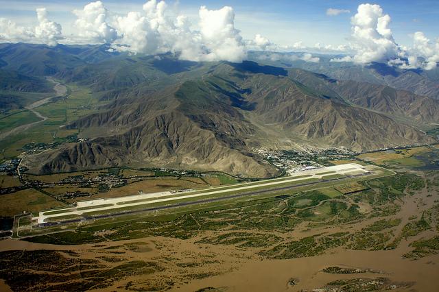 Аэропорт в Тибете