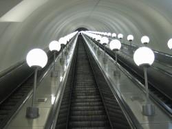 длинный эскалатор