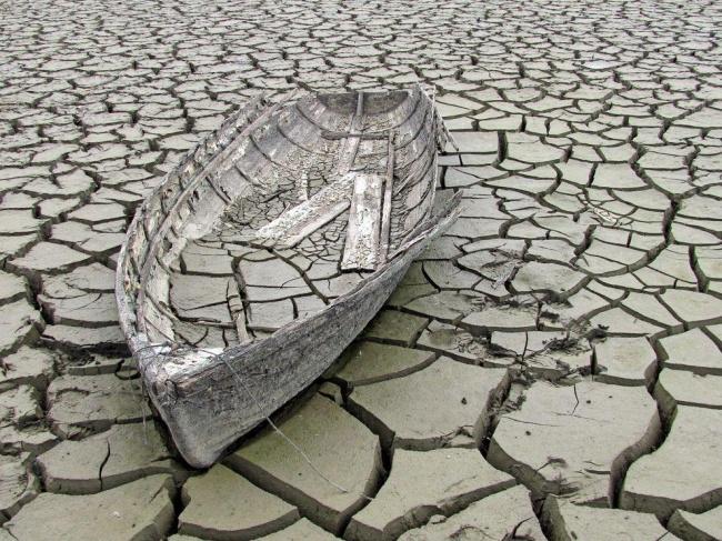 Лодка на дне