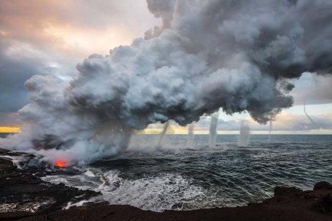 вулкан в Гавайи