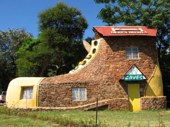 Отель-ботинок (Мпумаланга, ЮАР)