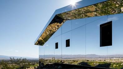 дом мираж в пустыне