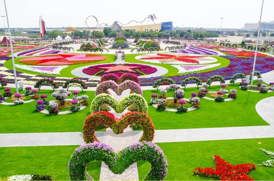 парк цветов в Дубае