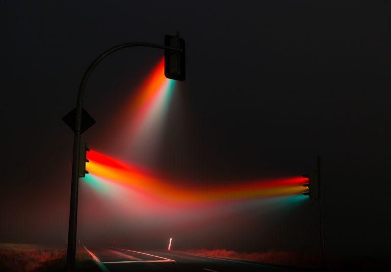 свет в тумане