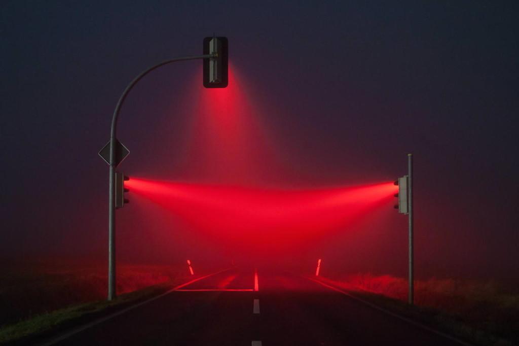 туманность ночью