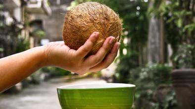 открываем кокос