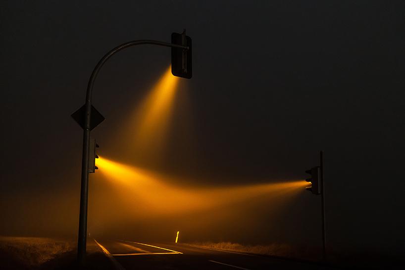 светофор в тумане