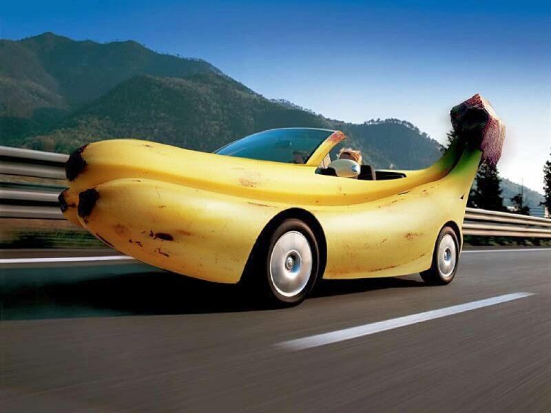 Смешные автомобиля в картинках