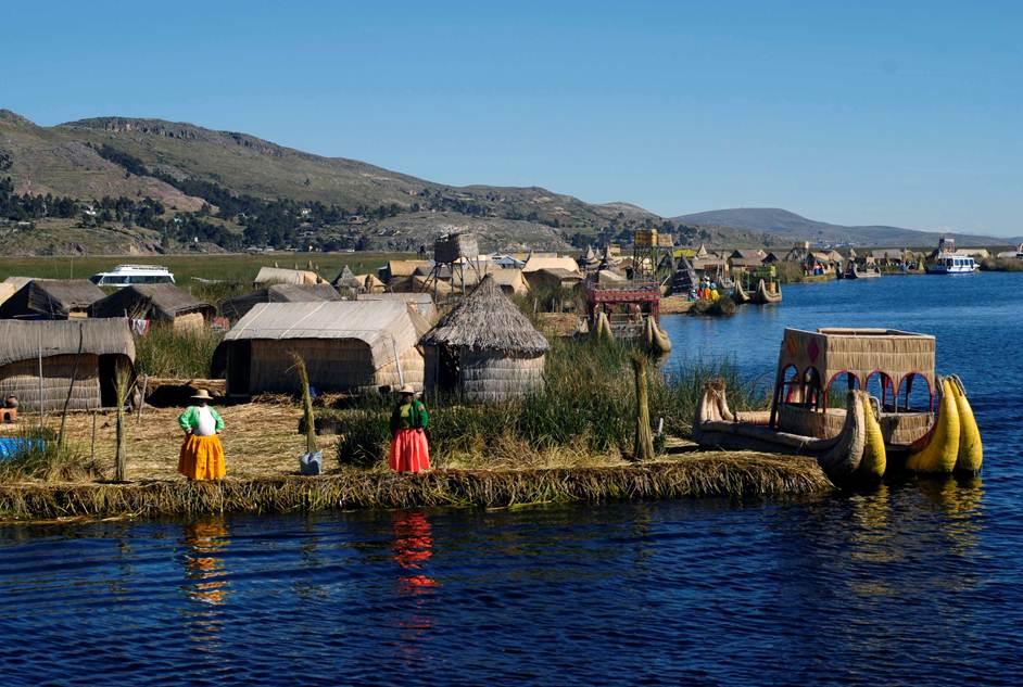 племена на озере титикака