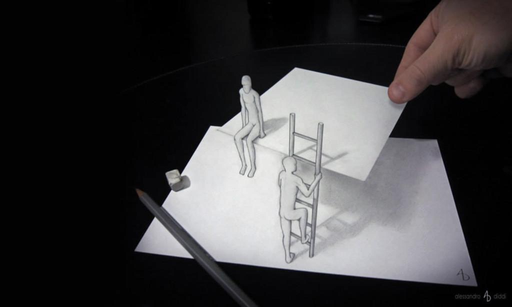 удивительная техника рисования